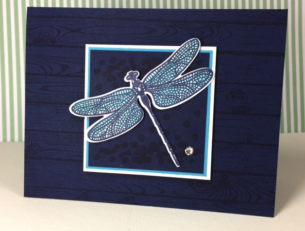 Dreamy Dragonfly with Hardwood