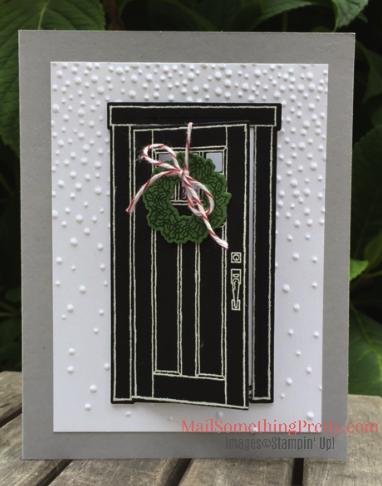 Opening Door Card